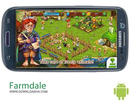 Farmdale v1.6.14 بازی مزرعه داری Farmdale v1.6.14 مخصوص اندروید