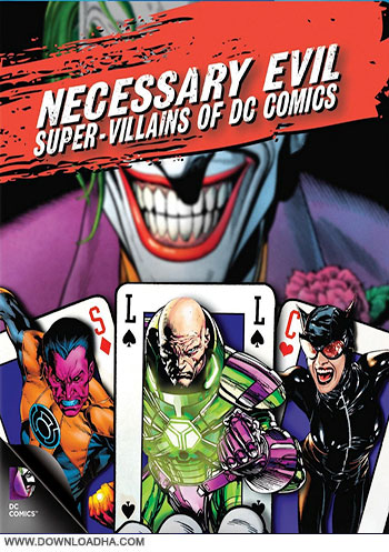 Necessary Evils cover دانلود مستند Necessary Evil Super Villains Of DC Comics 2013