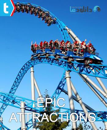 Epic Attractions season 1 cover دانلود فصل اول مستند جاذبه های حماسه ای   Epic Attractions 2015