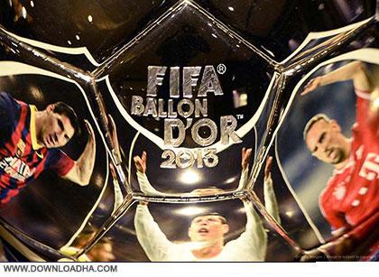 FIFA Ballon Dor 2013 cover دانلود مراسم توپ طلای 2013   FIFA Ballon Dor 2013