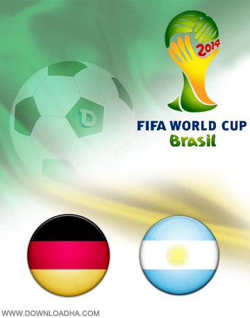 Germany vs Argentina 13.07.2014 دانلود بازی آلمان و آرژانتین در جام جهانی Germany vs Argentina World Cup 2014