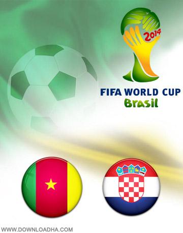 Cameron Crotia 18.06.2014 دانلود بازی کامرون و کرواسی   جام جهانی 2014