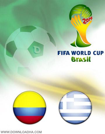 دانلود بازی کلمبیا و یونان – جام جهانی ۲۰۱۴