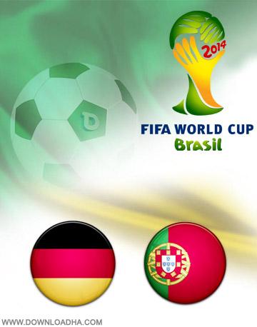 Germany Portugal 16.06.2014 دانلود بازی آلمان و پرتغال   جام جهانی 2014