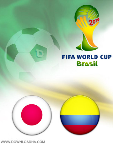 Japan Colombia 24.06.2014 دانلود بازی ژاپن و کلمبیا   جام جهانی 2014