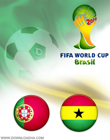 Portugal vs Ghana 26.06.2014 دانلود بازی پرتغال و غنا   جام جهانی 2014