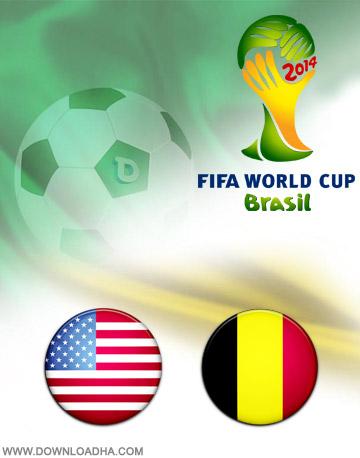 USA vs Belgium 01.07.2014 دانلود بازی بلژیک و امریکا – جام جهانی ۲۰۱۴