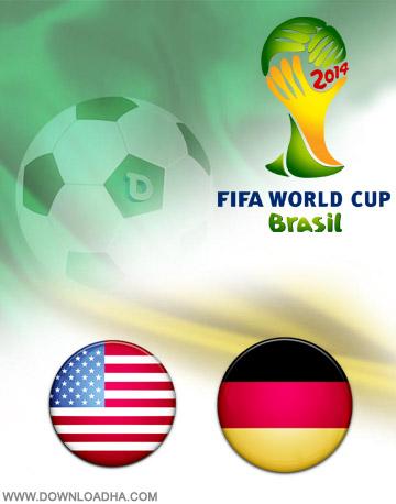 USA vs Germany 26.06.2014 دانلود بازی آلمان و امریکا   جام جهانی 2014