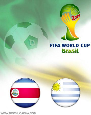 دانلود بازی اوروگوئه و کاستاریکا – جام جهانی ۲۰۱۴