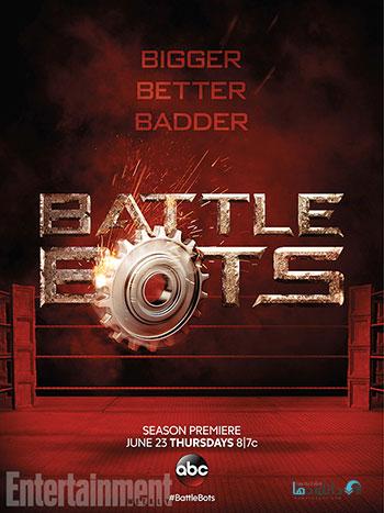 BattleBots season 2 cover small دانلود فصل دوم مسابقات جنگ ربات ها BattleBots Season 2 2016