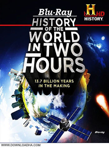 Around the world in 2 hours bluray cover دانلود مستند تاریخ دنیا در دو ساعت   History of the World in Two Hours 2013