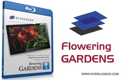 BluScenes flowering gardens cover دانلود مستند BluScenes: Flowering Gardens 2012