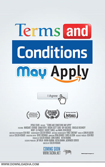 Terms and Conditions may apply cover دانلود مستند Terms and Conditions May Apply 2013