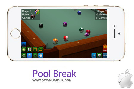 PoolBreak بازی بیلیارد Pool Break Pro v2.5.1 – آیفون و آیپد و آیپاد