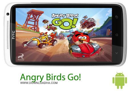 Angry Birds Go%21 v1.3.2 بازی پرندگان خشمگین Angry Birds Go! v1.3.2 – اندروید