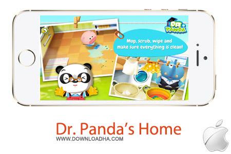 بازی دکتر پاندا Dr. Panda's Home 1.3 – آیفون و آیپد و آیپاد