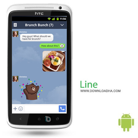LINE Free Calls %26 Messages v4.4.0 مسنجر محبوب LINE: Free Calls & Messages v4.4.0 – اندروید