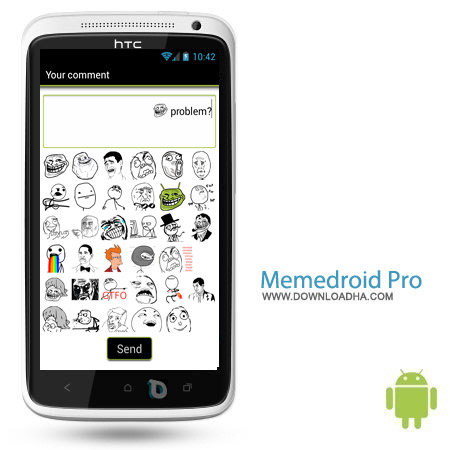 Memedroid Pro v3.53 نرم افزار ترول Memedroid Pro v3.53 – اندروید