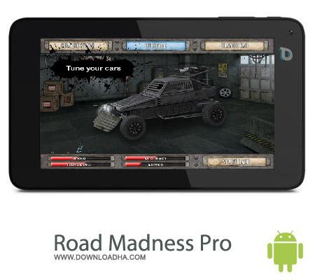 دانلود بازی مسابقات دیوانه وار Road Madness Pro v1.2 – اندروید