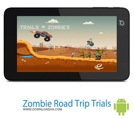 Zombie Road Trip Trials v1.0.1 دانلود بازی جاده زامبی Zombie Road Trip Trials v1.0.1 – اندروید