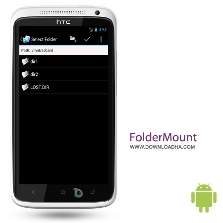 FolderMount Premium 2.6.4 نرم افزار انتقال دیتا FolderMount Premium 2.6.4 – اندروید