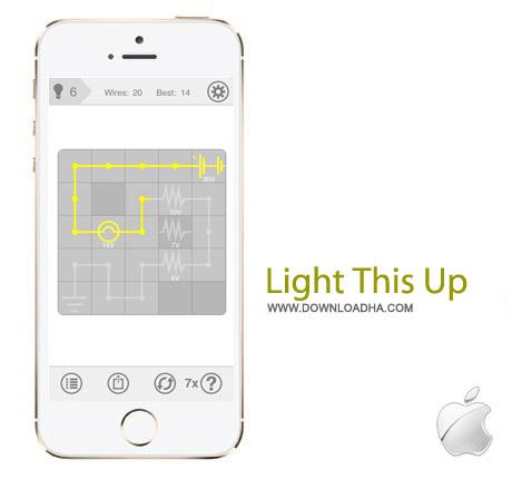 بازی پازل Light This Up v1.4.1 – آیفون و آیپد و آیپاد