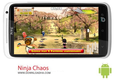 Ninja Chaos 1.2 بازی نینجا Ninja Chaos 1.2 – اندروید