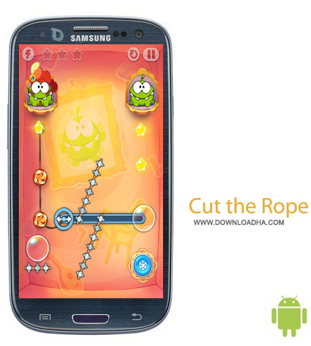 Cut the Rope Time Travel HD v1.3.2 بازی سرگرم کننده Cut the Rope: Time Travel HD v1.3.2 – اندروید
