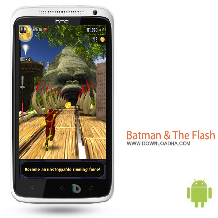Batman %26 The Flash بازی بتمن Batman & The Flash: Hero Run 1.1 – اندروید