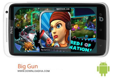Big Gun v2.6 بازی تفنگی Big Gun v2.6 – اندروید