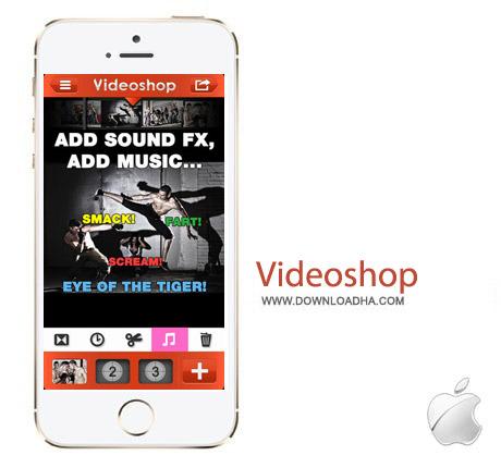 Videoshop v3.1 نرم افزار ویرایش ویدئو Videoshop 3.1 – آیفون و آیپد و آیپاد