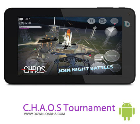 C.H.A.O.S Tournament HD v6.2.1 بازی جنگی C.H.A.O.S Tournament HD v6.2.1 – اندروید