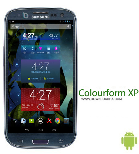 Colourform XP %28for HD Widgets%29 v2.0.2 ویجت های جذاب Colourform XP (for HD Widgets) v2.0.2 – اندروید
