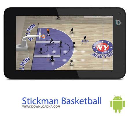 بازی مسابقات بسکتبال Stickman Basketball 1.1 – اندروید