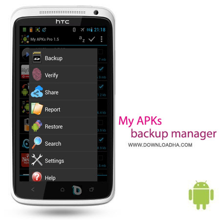 My APKs Pro backup manage apps 1.7 نرم افزار بکاپ گیری My APKs Pro Backup Manage Apps v1.7 – اندروید