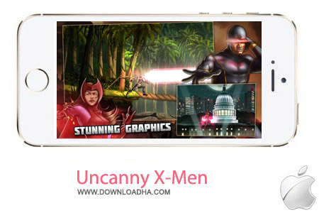Uncanny X Men Days of Future Past 1.0.3 بازی ایکس من Uncanny X Men: Days of Future Past 1.0.3 – آیفون و آیپد و آیپاد