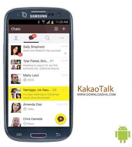 مسنجر محبوب KakaoTalk Free Calls & Text 4.4.2 – اندروید