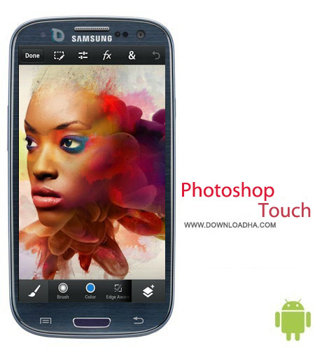 Photoshop Touch for phone v1.2 ویرایش تصاویر Photoshop Touch for phone v1.2 – اندروید