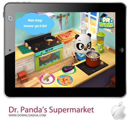 مدیریت سوپرمارکت Dr. Panda's Supermarket v1.2 – آیفون و آیپد و آیپاد
