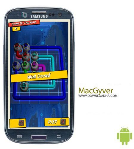 MacGyver Deadly Descent بازی فرار از مرگ MacGyver Deadly Descent v1.11 – اندروید