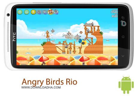 پرندگان خشمگین ریو Angry Birds Rio v2.1.1 – اندروید