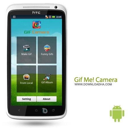 Gif Me%21 Camera 1.1 ساخت تصاویر متحرک Gif Me! Camera v1.01 – اندروید
