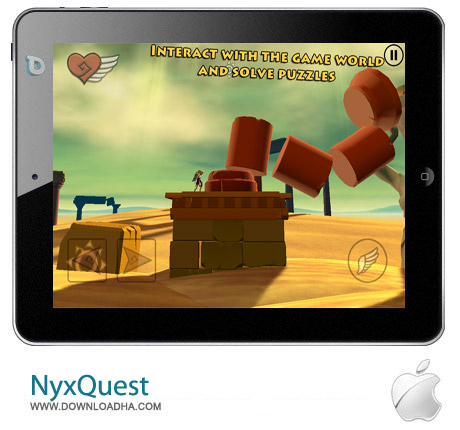 NyxQuest v1.02 بازی زیبای NyxQuest v1.02 – آیفون و آیپاد