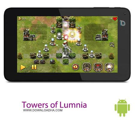 بازی استراتژیک دفاعی Towers of Lumnia v1.1.5 – اندروید