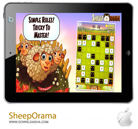 SheepOrama %96 PREMIUM Edition 1.0 بازی SheepOrama – PREMIUM Edition 1.0 – آیفون و آیپد و آیپاد