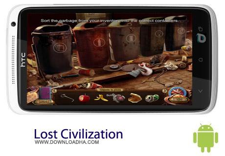 بازی ماجراجویی Lost Civilization v20.9.2013 – اندروید