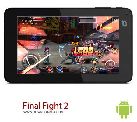 بازی مبارزه ای Final Fight 2 v1.1 – اندروید