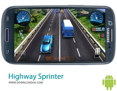 Highway Sprinter v0.99 بازی ماشینی Highway Sprinter v0.99 – اندروید
