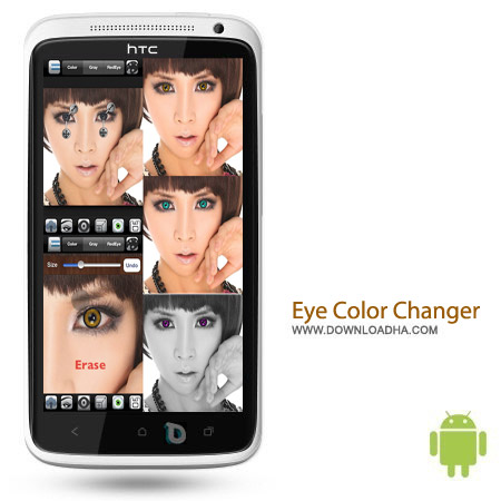 Eye Color Changer Pro v1.3.8 تغییر رنگ چشم Eye Color Changer Pro v1.3.8 – اندروید