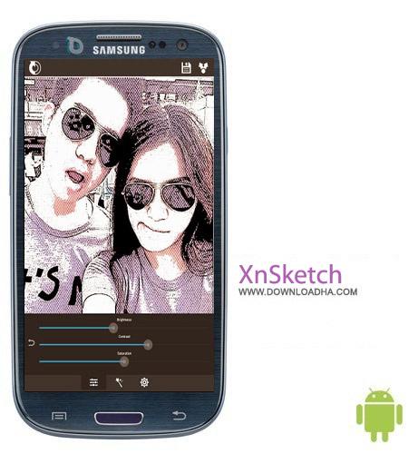 XnSketch Pro v1.36 عکس های کارتونی XnSketch Pro v1.36 – اندروید